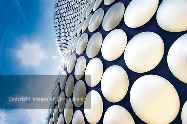 Selfridges building, Birmingham City Centre, England, UK