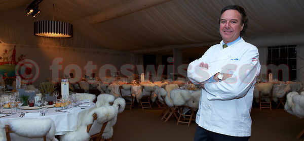 Gala Dinner at the 27th Polo World Cup on Snow in St.Moritz