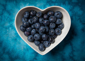 Blueberries are good for your heart