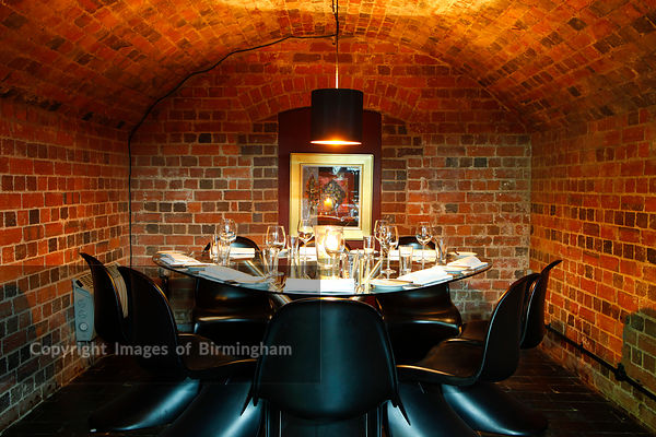 The Vaults restaurant, Birmingham
