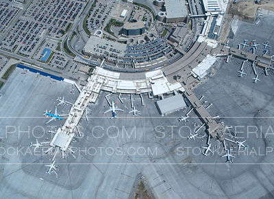 Calgary International Airport Overhead
