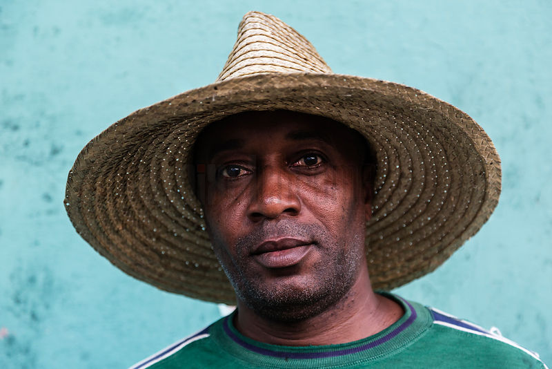 Portrait of a Tobacco Farm Worker