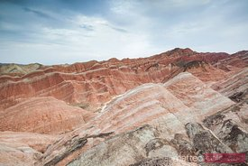 Sunan danxia landform in Zhangye, Gansu, China