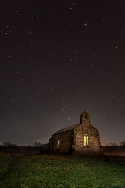 Landscape | Canvas wall art | Milkyway | St Mary's Church |  Tadcaster