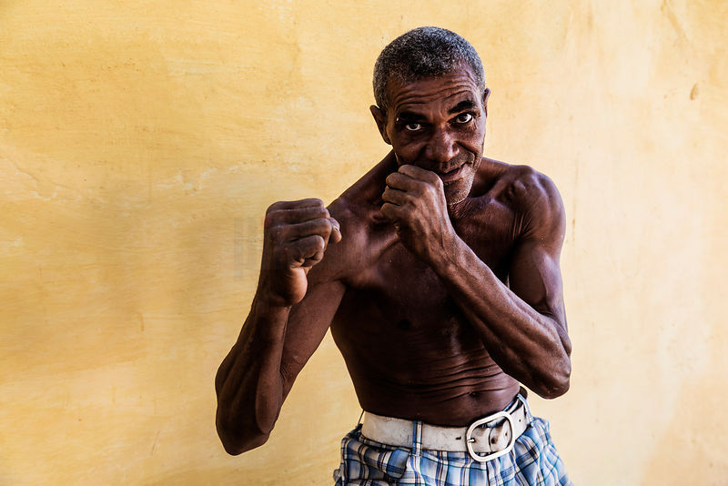 Portrait of a Boxer at 52