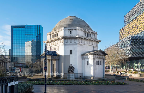 The Hall of Remembrance, Centenary Square, Birmingham.