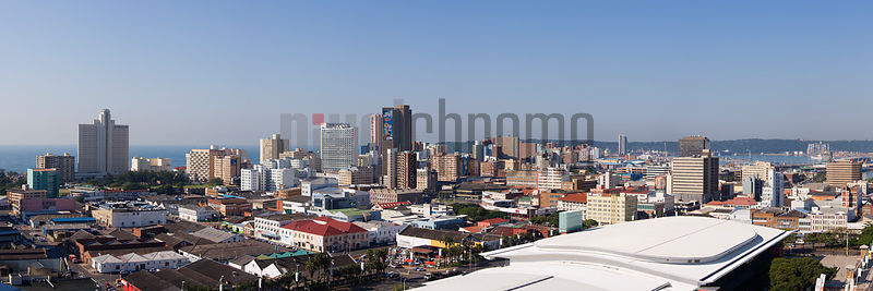 Skyline View of Durban