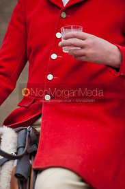 Peter Collins, Quorn Huntsman - The Quorn Hunt at Centaur Stud, Cold Newton 18/11/11.
