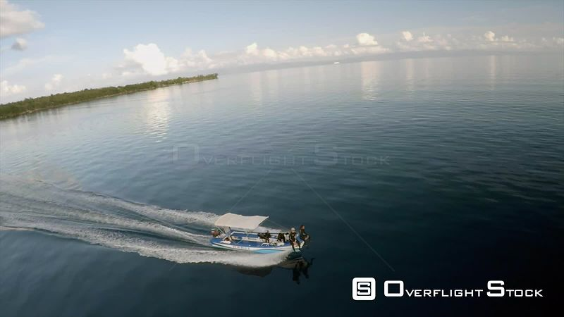 Dive Boat Tropical Philippines Asia