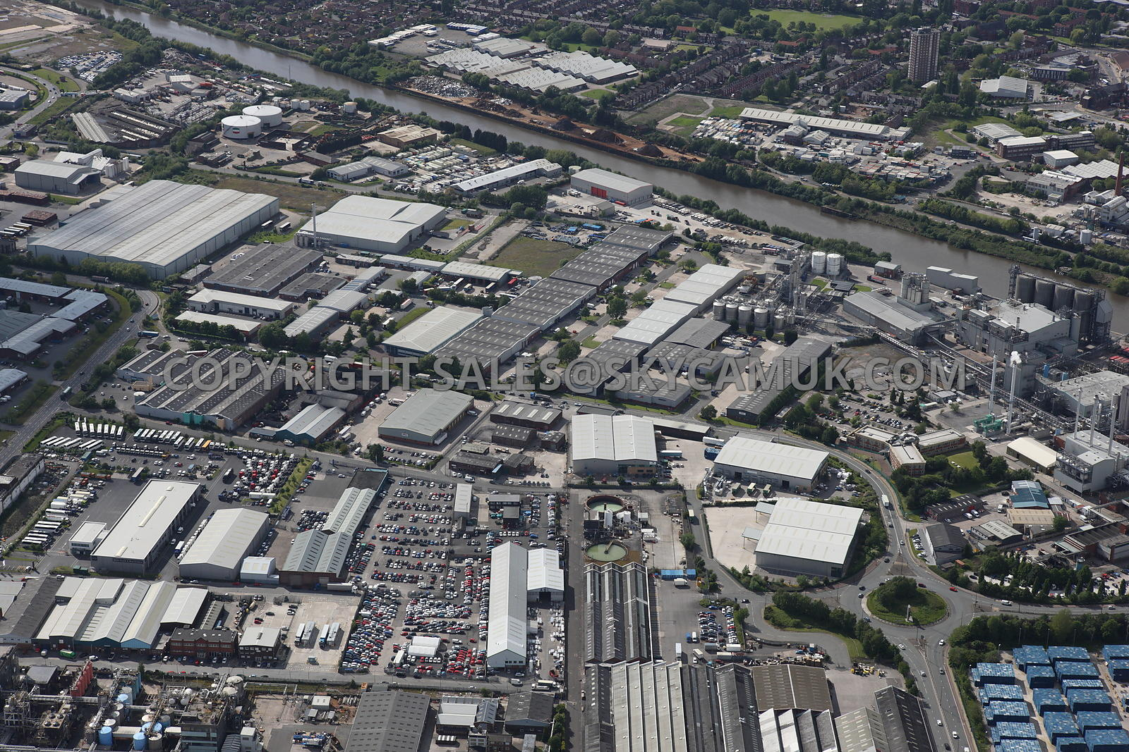 Aerial Photography Of Manchester Aerial Photograph Of