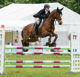 Annabel Henderson and BELAMIE DHI - Rockingham Castle International Horse Trials 2016