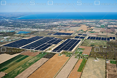 Ontario Solar Panel Green Energy Farm