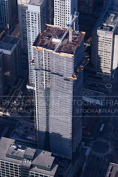 One Bloor East Tower Construction