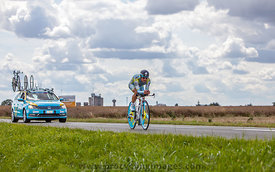 The Kazak cyclist Vinokourov Alexandr - Tour de France 2012