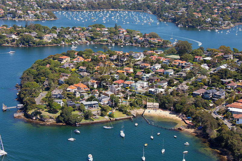Sydney Aerial Photography Greenwich Nsw