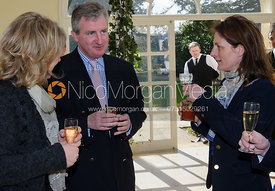 Hunt Secretary Clare Bell, John Ferguson and Zara Wise