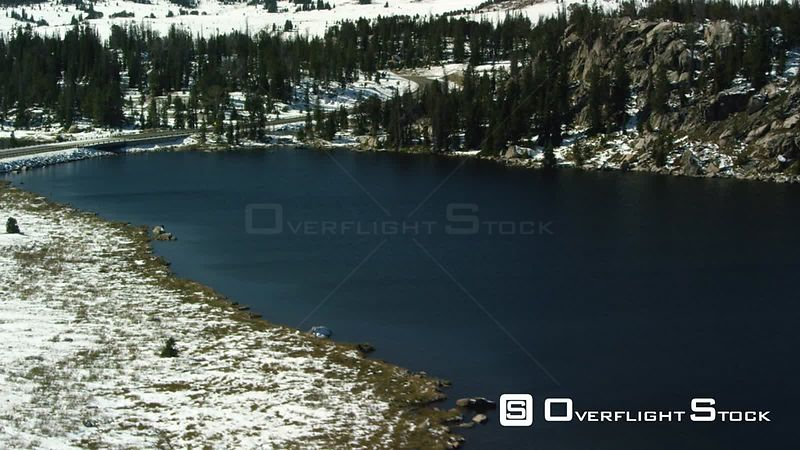 Long Lake sits at 9,000 feet of elevation in the heart of the Beartooth mountain range near Yellowstone National Park, and sits next to U.S. 212, the Beartooth Highway