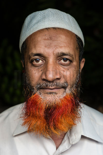 Portrtait of a Moslem Man with a Hennaed Beard