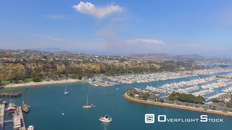 Dana Point Marina and Headlands California USA