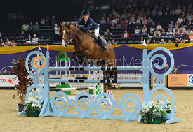 Stacey Babes and Waldemar - The Horse and Hound Foxhunter, Horse of the Year Show 2010
