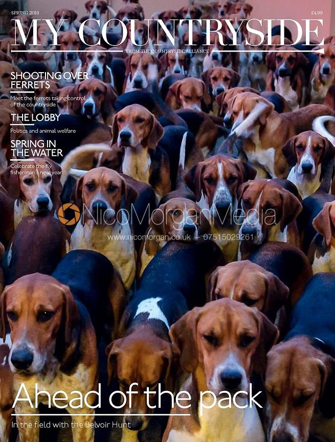 My cover image on the 2018 Spring issue of the Countryside Alliance Magazine