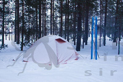 Tent in Salomaa Camping Site