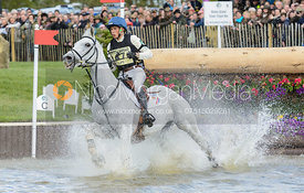 Tim Lips and KEYFLOW NOP - Cross Country phase, Mitsubishi Motors Badminton Horse Trials 2014