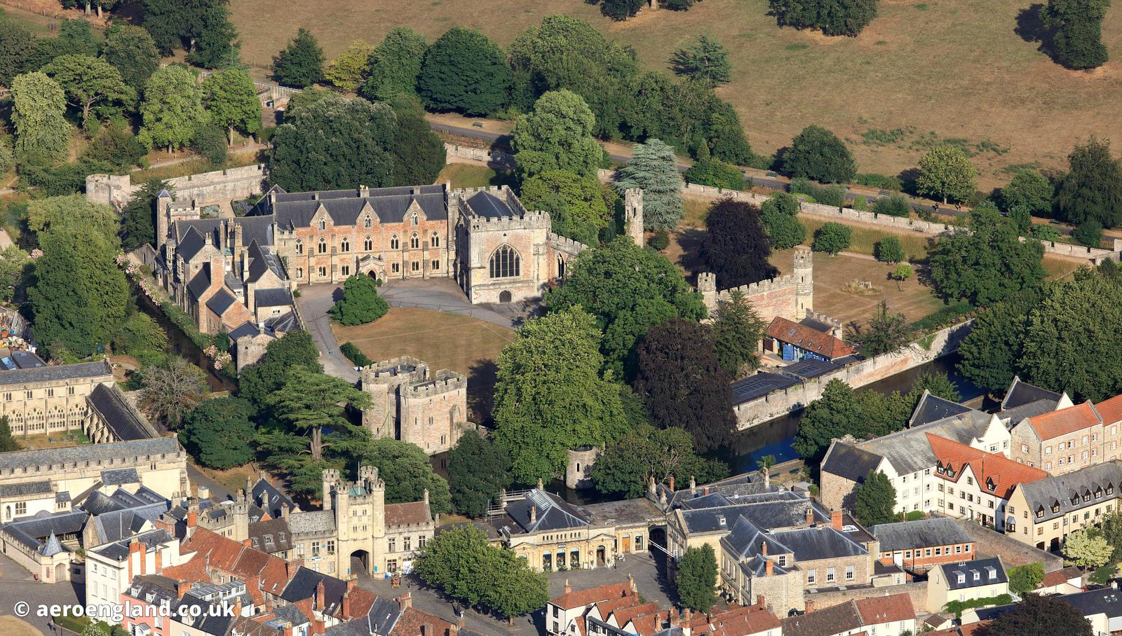 Bishops' Palace  Wellsaerial photograph