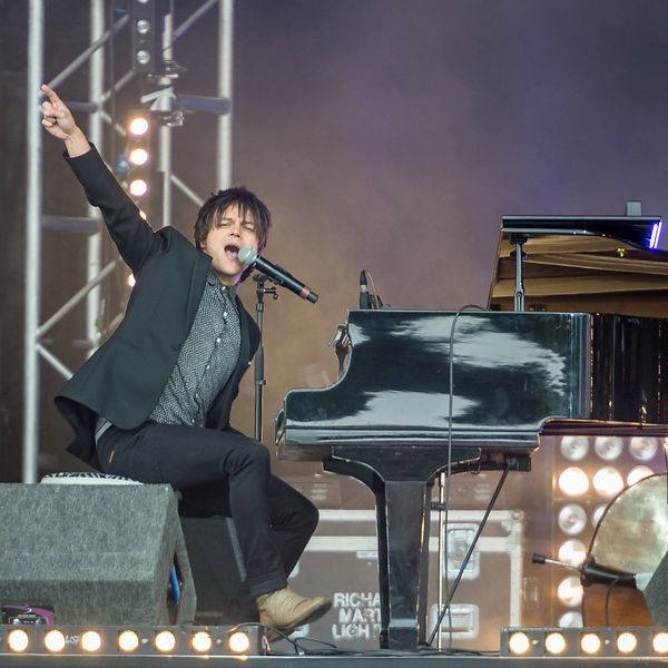 Jamie Cullum Playing Radio 2's Hyde Park Festival in a Day