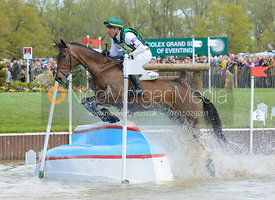Marcio Carvalho Jorge and JOSEPHINE MCJ - Cross Country phase, Mitsubishi Motors Badminton Horse Trials 2014