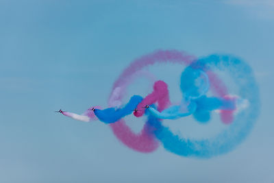 Red Arrows gypo swirls