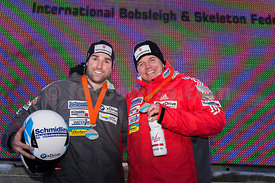 FIBT Bob World Cup 2Men in Olympia Bob Run in St. Moritz