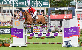 Lillie Keenan and SUPER SOX - Dublin Horse Show 2017