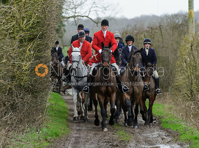 The Cottesmore Hunt at Furze Hill 26/1 photos