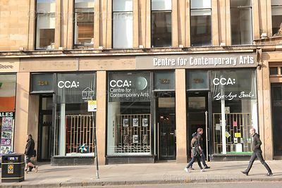 Exterior of the Centre for Contemporary Arts in Glasgow