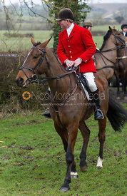 Tim Hercock - The Quorn Hunt at Sludge Hall 15/2/13