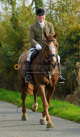 Johnnie Arkwright on Cold Overton Road - The Cottesmore at Langham.
