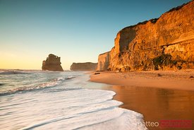 Gibson steps beach at sunset, Great Ocean Road, Australia