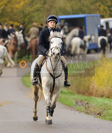 The Cottesmore Hunt at Owston.