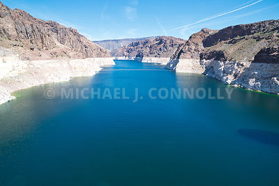 Lake Meade Waterline Hoover Dam