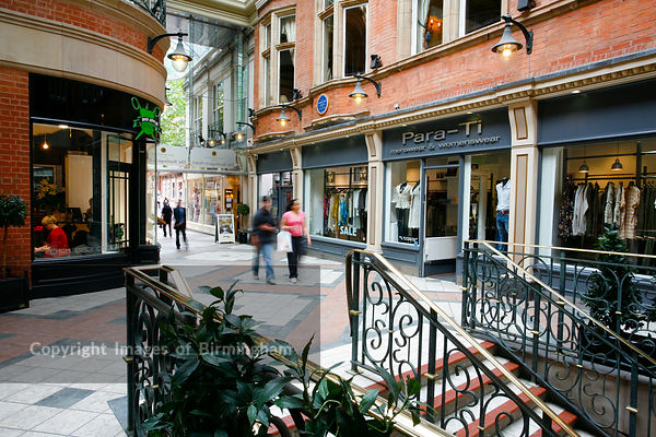 The Burlington Arcade, Birmingham, West Midlands.