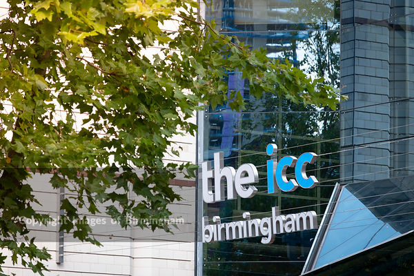 The ICC entrance Birmingham, England