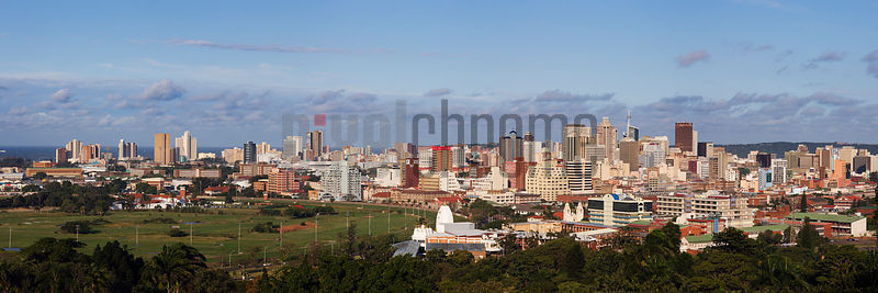 View of Durban Skyline from Berea