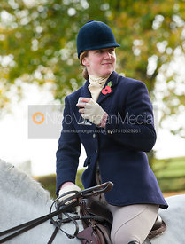 Maz Medcalf - Cottesmore Hunt Opening Meet, 30/10/12