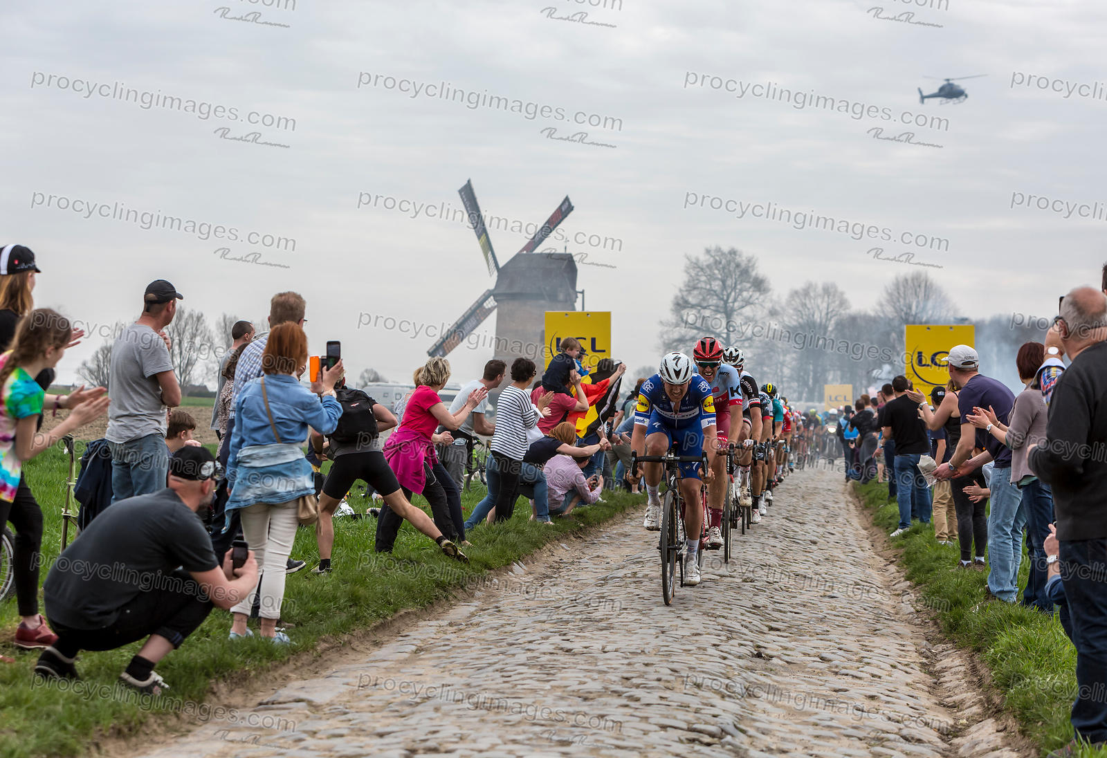 The Peloton - Paris-Roubaix 2018