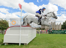 Olivia Wilmot and COOL DANCER - cross country phase,  Land Rover Burghley Horse Trials, 7th September 2013.