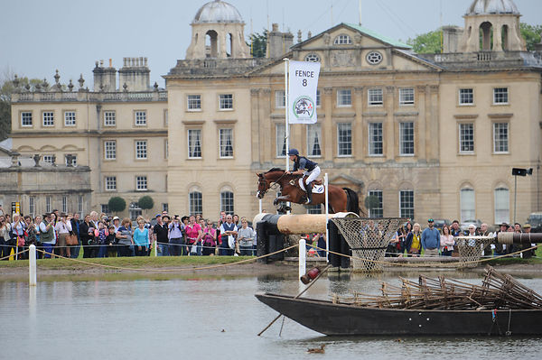 Tim Price at the Mitsubishi Motors Badminton Horse Trials