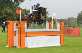 Andrew Hoy and RUTHERGLEN - cross country phase,  Land Rover Burghley Horse Trials, 6th September 2014.