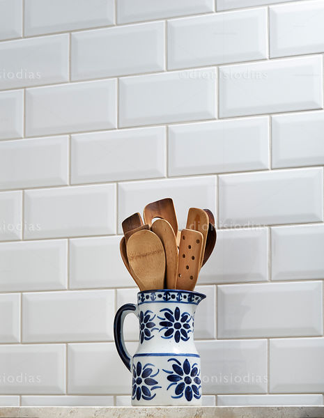Ceramic Jug with wooden spoons