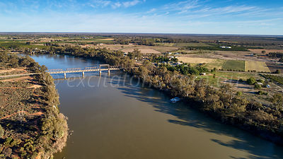 Abbotsford Bridge, Curlwaa, NSW, Australia.